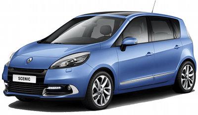 Présentation des Renault Scenic (5 places) et Grand Scenic (7 places) de 2012.
